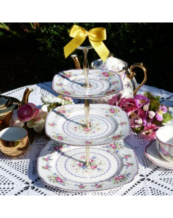(OUT OF STOCK) ROYAL ALBERT PETIT POINT VINTAGE 3 ...